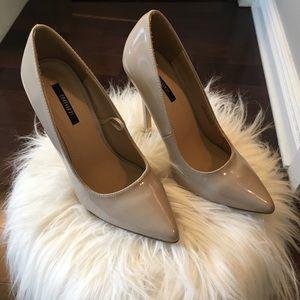 Patent nude heels